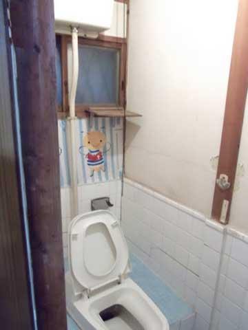 トイレ リフォーム ぼっとん